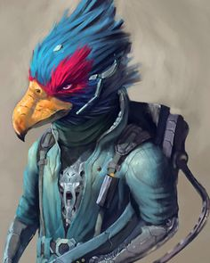 Artist Oscar Römer has created some fantastic Star Fox fan art. Römer has taken the characters of Fox MacCloud and Falco from the classic Nintendo video game and given them a soft painterly look while evoking a war-weary attitude. Star Fox, Fox Art, Super Smash Bros, Master Chief, Video Game, Fan, Stars, Awesome, Classic