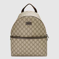 Gucci Children s GG supreme backpack Detail 2 Supreme Backpack 7e43ac45de7