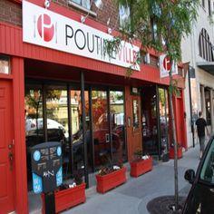 Poutineville, Montréal - 1365 Ontario East, Ville-Marie - Menu et prix - Tripadvisor Montreal Quebec, Montreal Canada, Places To Eat, Great Places, Ontario, Toronto, Restaurants, Food Truck, Park