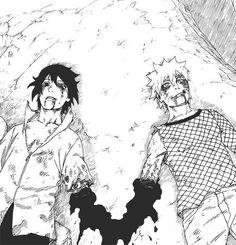 The last fight Anime Naruto, Art Naruto, Naruto Sketch, Naruto Drawings, Naruto Comic, Sasuke X Naruto, Naruto Cute, Naruto Shippuden Sasuke, Photo Naruto