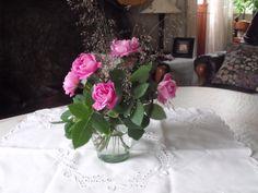 roser og strå fra hagen