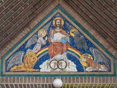 Hoogeloon -  Christus Koning en de vier Evangelisten