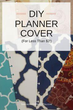 DIY Planner Cover