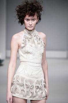 Synesthesia by Iris Van Herpen [sculpture dress]