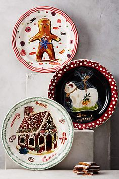 Holiday In Provence Dinner Plate - anthropologie.com