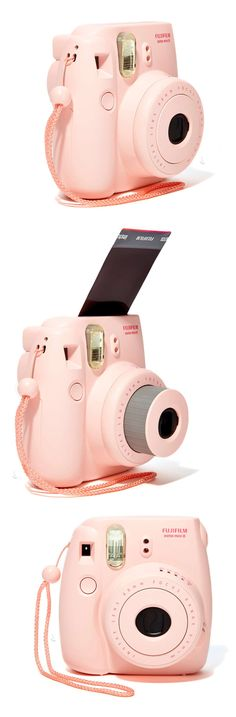 Fujiflim Instax Mini 8 Camera & Polaroid Film Set // so fun to have instant photos! Best gift idea for her! #product_design