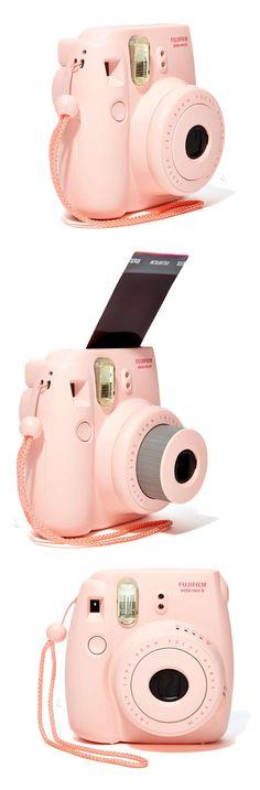 Fujiflim Instax Mini 8 Camera & Polaroid Film Set // so fun to have instant photos! Best gift idea for her! #product_design