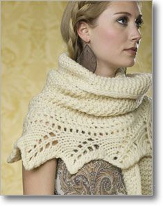 My lovely Aunt would love this shawl.