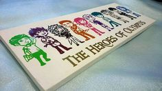 Percy Jackson Inspired Heroes of Olympus Canvas by Vizionaire