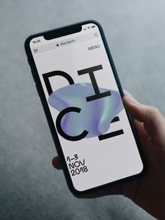 Dice Conference and Festival Identity, with Andrew McCarthy, Art Direction & Type Design View Website App Ui Design, Interface Design, Layout Design, Design Design, Minimal Web Design, Mobile Application Design, Mobile Design, Ms Project, Presentation Board Design