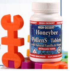 HDI Honeybee PollenS merupakan suplemen bee pollen yang diformulasikan untuk mengoptimalkan tumbuh kembang buah hati Anda. Hadir dalam bentuk tablet kunyah dengan rasa vanila dan madu yang enak. #HoneybeePollens #HBP #PollenUntukAnak Info: Kuria 085286303619 BBM 2690965B