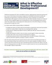 The Facts on Education: What is Effective Teacher Professional Development? | Canadian Education Association (CEA)