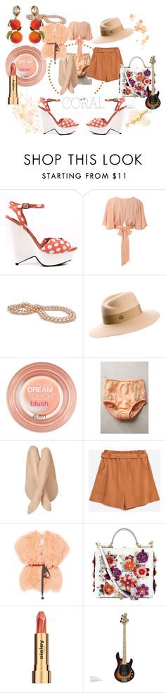 """Delicate Eccentric! (Challenge Entry)"" by flippintickled ❤ liked on Polyvore featuring мода, Bebe, Maison Michel, Maybelline, Fortnight, Zara, Maria Lucia Hohan, Dolce&Gabbana, Sisley и women's clothing"