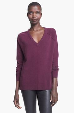 Love the color of this sweater!