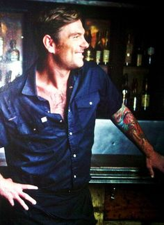 Chef Chuck Hughes. Gotta love a man who can cook, has tattoos and speaks multiple languages. <3