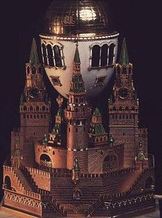 Moscow Kremlin egg Faberge