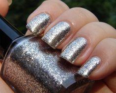 Moonlight (Clair de lune) - real silver flakie - SUPER shiny