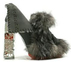 fur shoes - Google Search