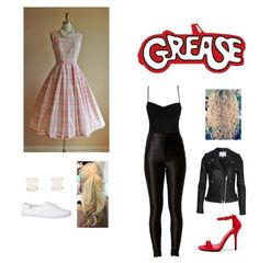 You and Ashton in grease