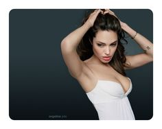 Very Nice Movies Mouse Pad Angelina Jolie