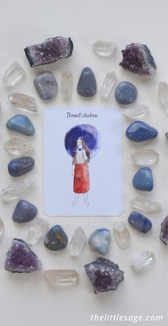 Learn how to make your own oracle card (we used our The Little Sage Oracle Cards) and crystal mandalas with our easy tutorial! Read now on The Little Sage's blog at http://www.thelittlesage.com/how-to-make-an-oracle-card-mandala/
