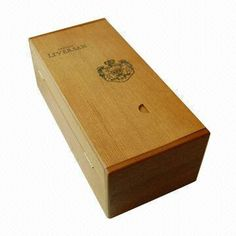 Wine Gift Box, Made of Wood, Measures 350 x 120 x 120mm
