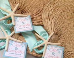 Palm Leaf Hand Fans With Small Tag Raffia Wedding Beach Programs Favors