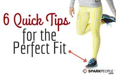6 Tips to Find the Perfect Shoe Fit via @SparkPeople @VionicShoes