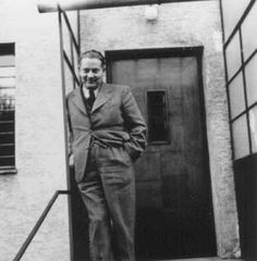 """Dr. Joseph Jaksy, who rescued 25 Jews during the war. He provided them with hiding places, money, medicine and forged identification papers. Jaksy was named """"Righteous Among the Nations."""" Czechoslovakia, prewar."""