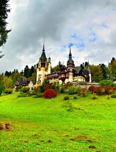Peleș Castle in the Carpathian Mountains near Sinaia, Romania. Located on the existing medieval route linking Translyvania and Wallachia. Built by King Carol I of Romania from 1873-1914 at a cost of $120 million (today). From 1975-1990 Nicolae Ceausescu closed the entire estate. By 2006 the Romanian government announced restitution of the castle to former monarch Michael I of Romania.