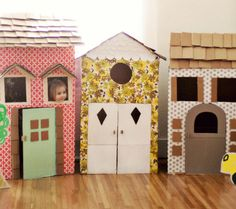 Fun Things to Make From Leftover Boxes From Christmas