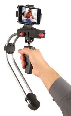 Steadicam for mobile phones. Awesome. More at http://atechpoint.com/ #tech #atechpoint