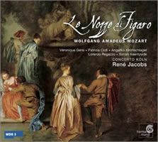 """Le Nozze di Figaro"" with the Ghent Collegium Vocale & Concerto Köln conducted by René Jacobs (Harmonia Mundi HMC90 1818/20)"