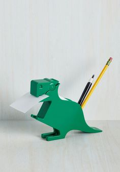 Cool school supplies: Memosaurus Rex desk organizer | Cool Mom Picks Back to School Guide 2016
