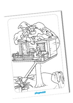 coloring pages playmobil - photo#36