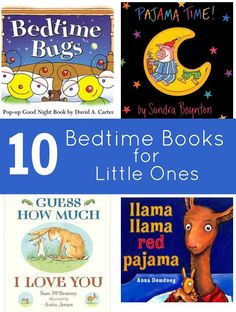10 Great Bedtime Books for Little Ones #kids #reading via @Sara {Mom Endeavors} | @Right Start Blog