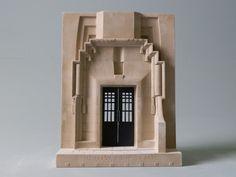 A Mackintosh designed doorway.