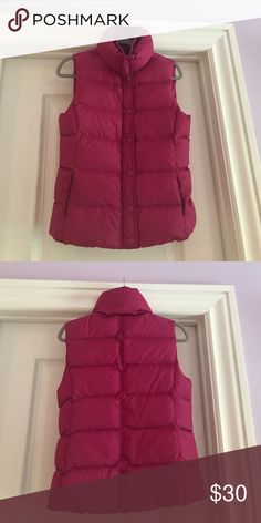 J.Crew Vest Excellent condition J. Crew Jackets & Coats Vests