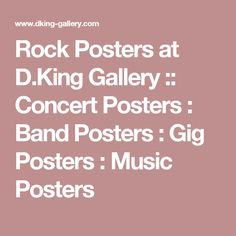 41 Best rock posters images in 2018 | Rock posters, Poster