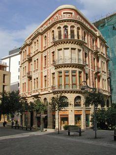 Lebanon, Beirut, a beautiful building