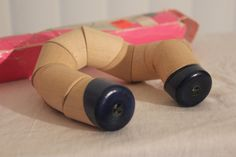 "Monimutka Turning ""Snake Toy"" made by AARIKKA.    This was made in Finland in the 1970s and designed by Pekka Korpijaakko & Jorma Vennola."