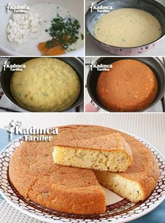 Peynirli Tava Keki Tarifi