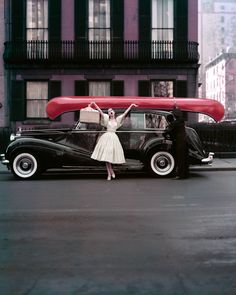 """""""Red Canoe, NYC"""" Photograph 