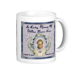 In Loving Memory PopPop William Thomas Lease Mugs