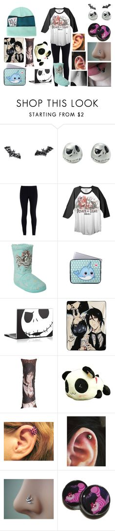 """""""Untitled #676"""" by newmotionlessjinxxgamer ❤ liked on Polyvore featuring Sourpuss, NIKE, Ripple Junction, Disney and Sebastian Professional"""