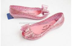Melissa Vivienne Westwood Women Bright Jelly Shoes Pink