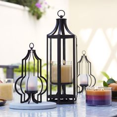 Enjoy GloLite's all-over shimmer! Pair with our lanterns for a magical summer glow! The Marrakech Hanging Lantern and Hanging Votive Holder bring the hot summer evenings home and transport you away somewhere exotic!