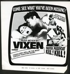 Russ Meyer Double Feature.