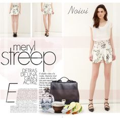 Floral Printed Flouncing Pleated Skirt