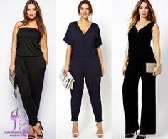 Jumpsuit fashion 2014 / lady plus - size fashion 2014